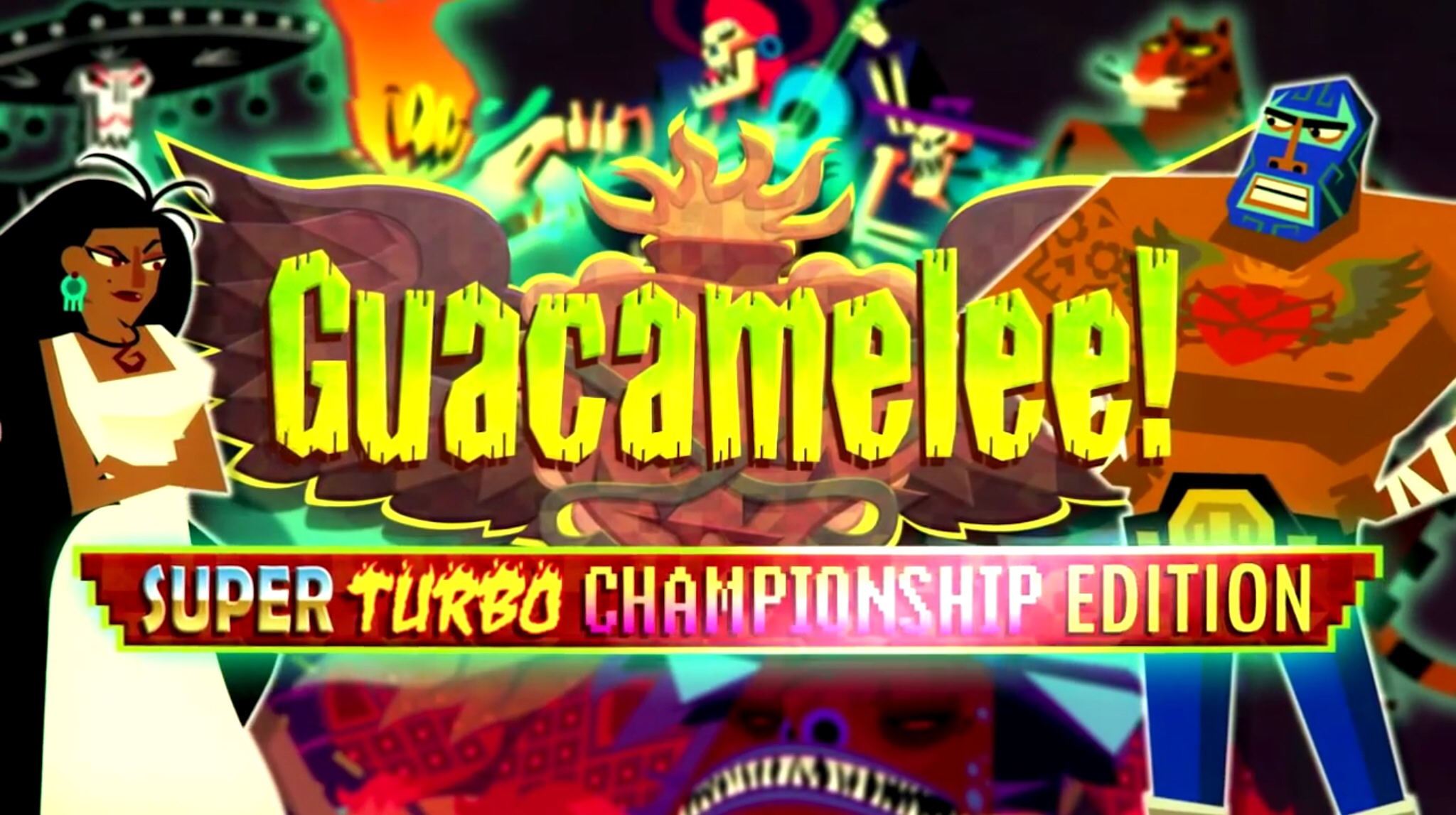 guacamelee super turbo championship edition art