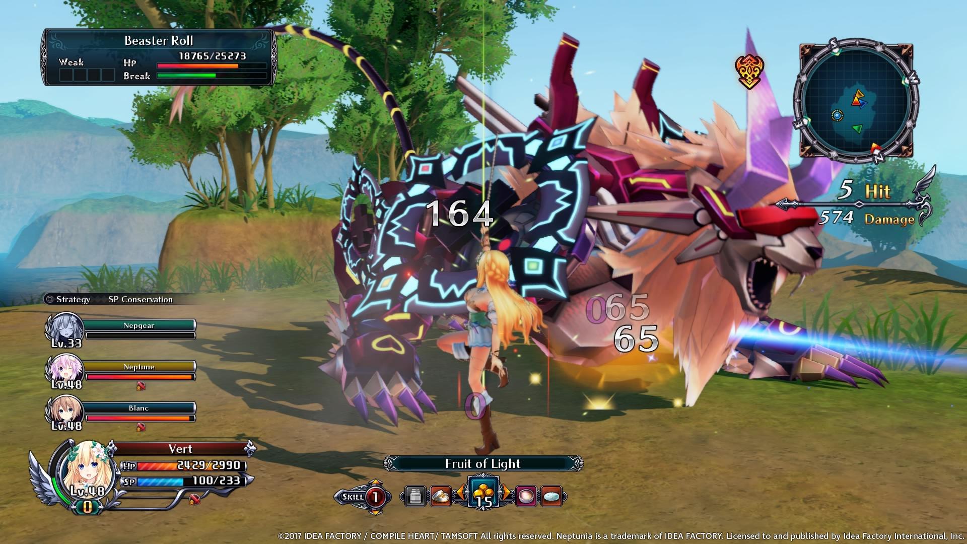 Cyberdimension Neptunia 4 Goddesses Online