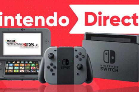 Nintendo Direct de septembre 2017: de nombreux jeux à venir pour Switch et 3DS