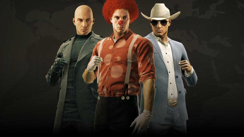 hitman goty costumes