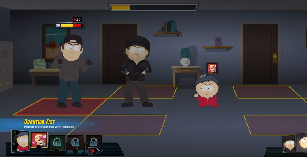 south park fractured but whole combat