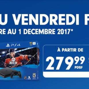 Vendredi Fou : les offres de PlayStation Canada