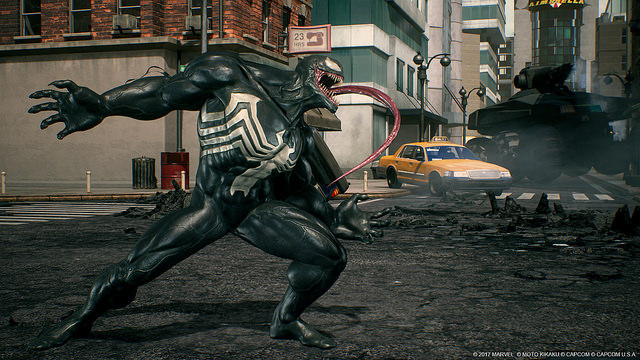 venom marvel vs capcom infinite