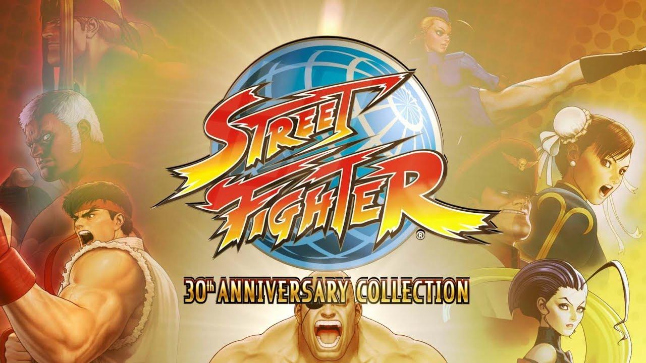 street fighter 30th anniversary