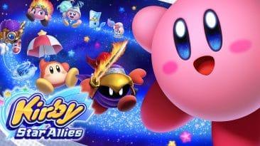 Test Kirby Star Allies Nintendo Switch