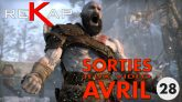 Rekap no.28 - Sorties avril 2018 - God of War