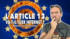 article 13 tuer internet