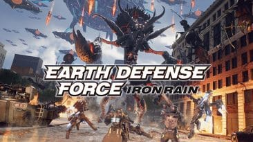 earth defense force iron rain test