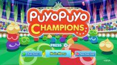 puyo puyo champions test