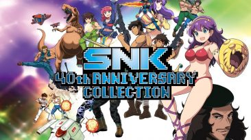 snk 40th anniversary collection-