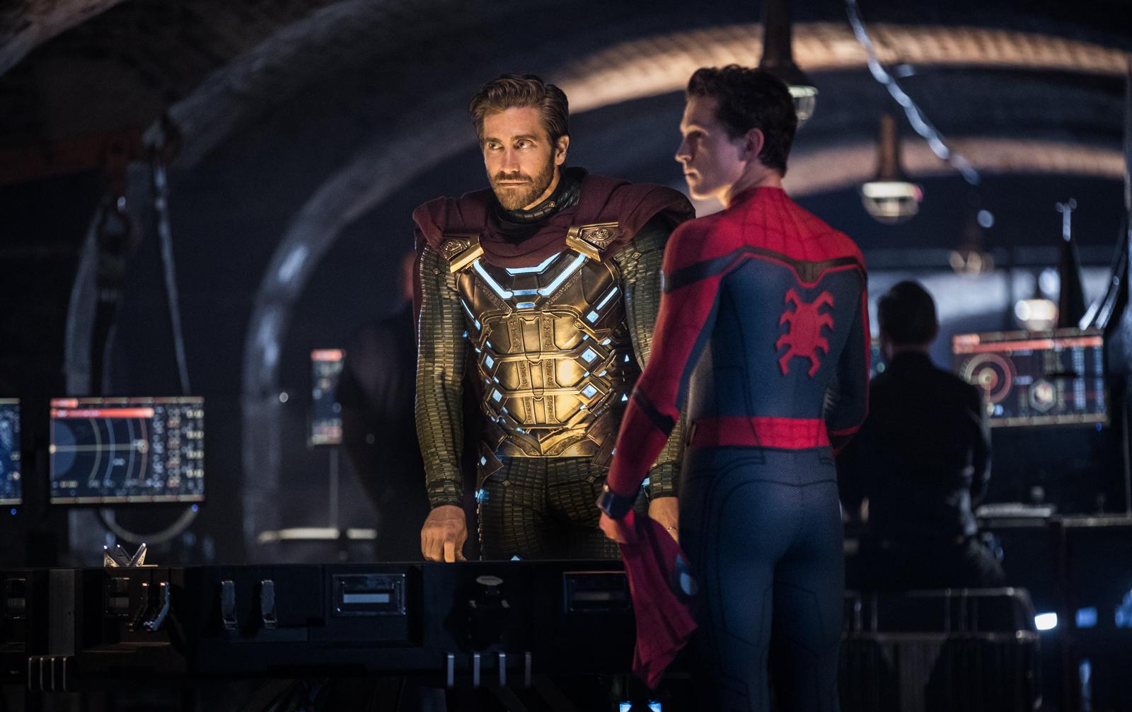 Quentin Beck et Peter Parker