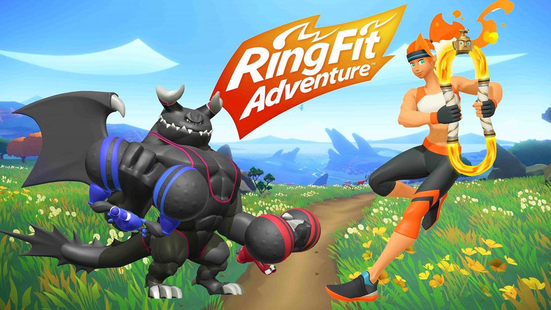 Test du jeu Ring Fit Adventure (Switch) - M2 Gaming