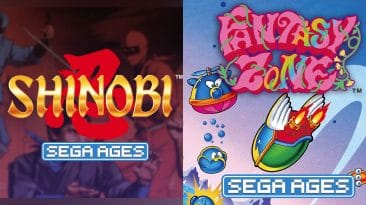 Test Sega Ages - Shinobi, Fantasy Zone