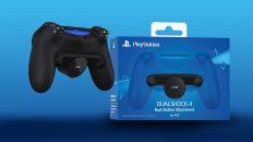 Présentation Fixation dorsale de commandes Dualshock 4 de Sony