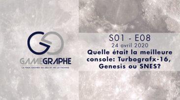Game Graphe - S01 - EP08- Quelle était la meilleure console: Turbografx-16, Genesis ou SNES?
