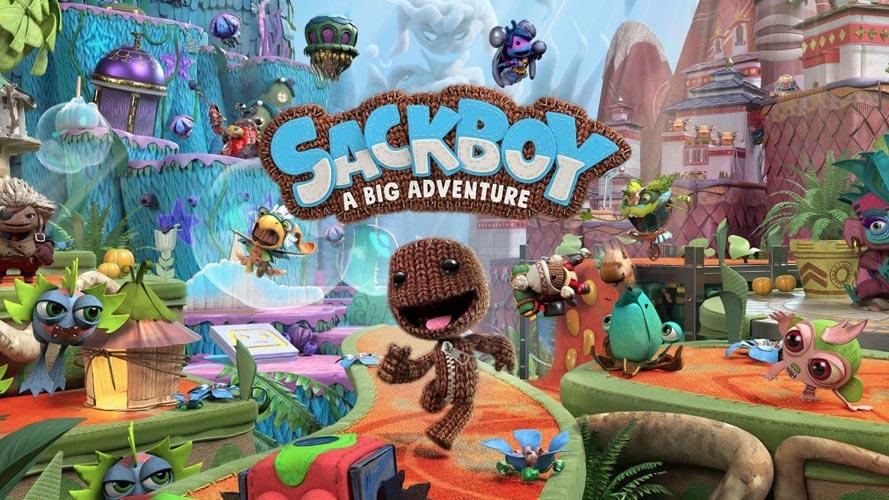 Test SackBoy A big adventure