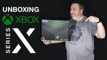 Déballage (Unboxing) de la Xbox Series X de Microsoft