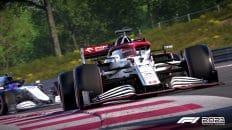 Test F1 2021 sur PC